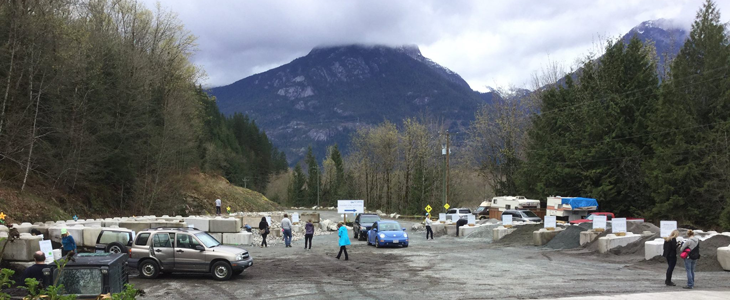Coast Aggregates Landscape Supply Squamish BC